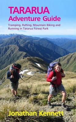 Cover picture of Tararua Adventure Guide, by Jonathan Kennett