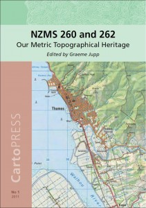 Cover image of NZMS 260 and 262: Our Metric Topographical Heritage, edited by Graeme Jupp